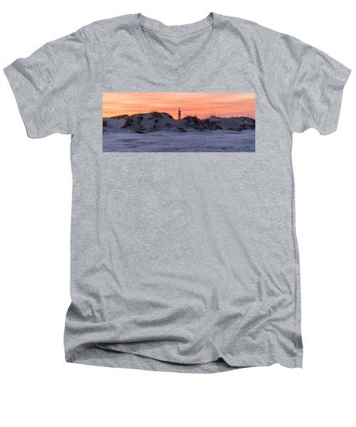 Men's V-Neck T-Shirt featuring the photograph Peek A Boo by Kristopher Schoenleber
