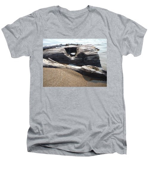 Peekaboo Men's V-Neck T-Shirt