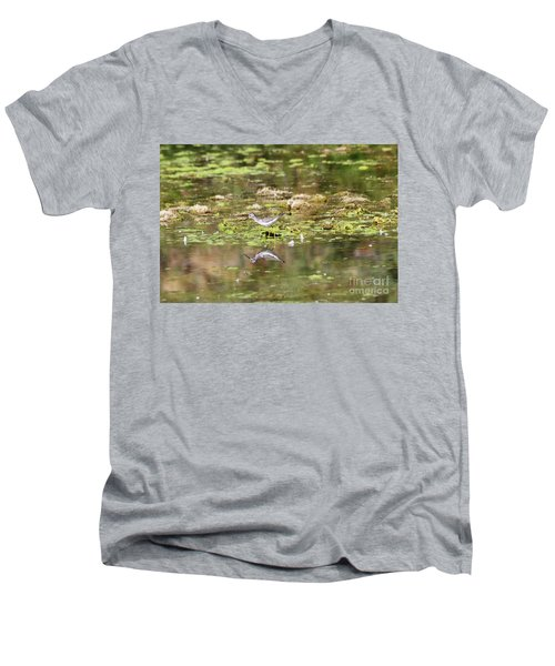 Peeps Men's V-Neck T-Shirt
