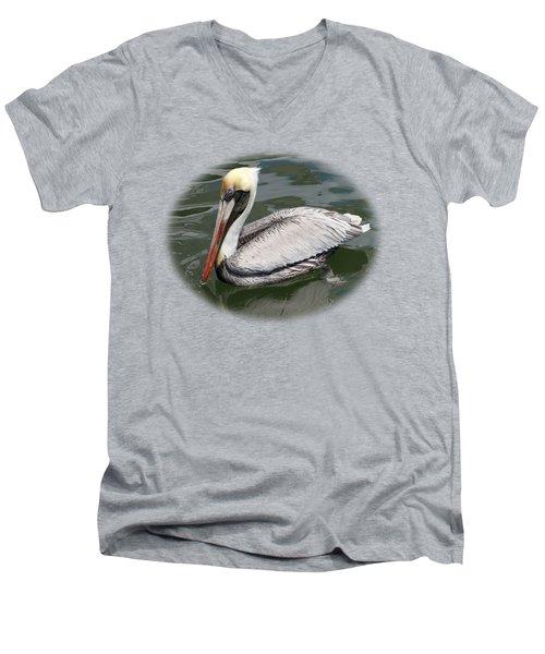 Pelican 3 Vignette Men's V-Neck T-Shirt