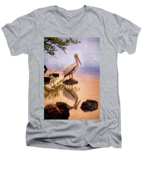Pelican Connection 2 Men's V-Neck T-Shirt