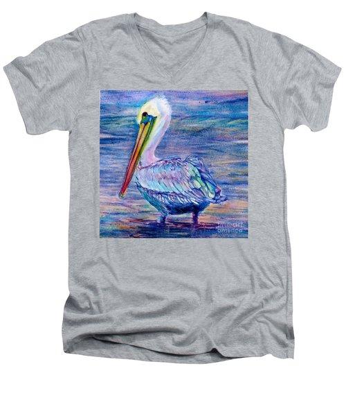 Pelican Gaze Men's V-Neck T-Shirt
