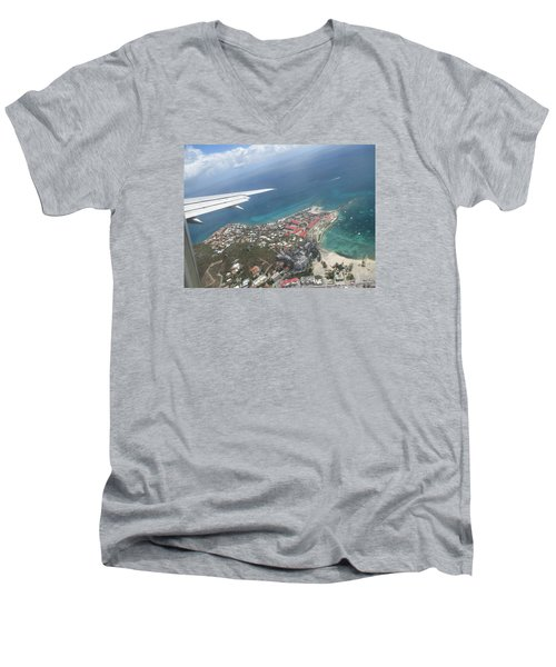 Pelican Key St Maarten Men's V-Neck T-Shirt