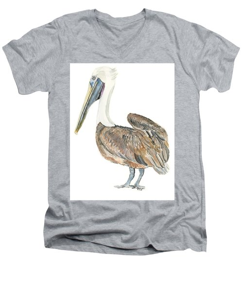 Pelican Men's V-Neck T-Shirt