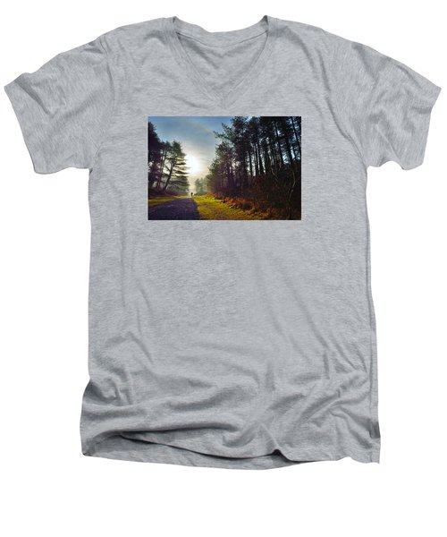 Pembrey Country Park 1 Men's V-Neck T-Shirt