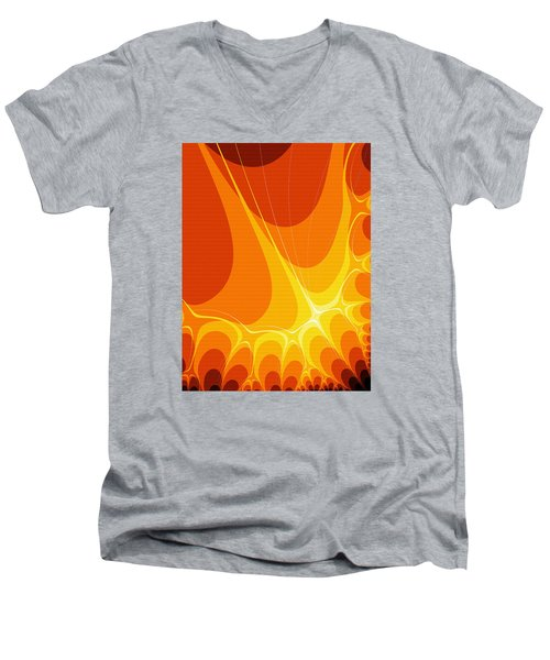 Penman Original-422 Men's V-Neck T-Shirt by Andrew Penman