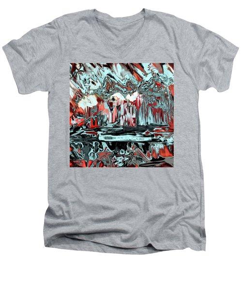 Penman Original-565 Men's V-Neck T-Shirt by Andrew Penman