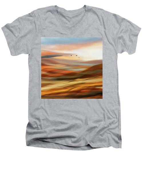 Penman Original-730 Men's V-Neck T-Shirt by Andrew Penman