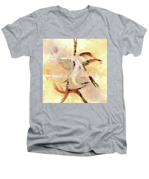 Penman Original-824 Men's V-Neck T-Shirt by Andrew Penman