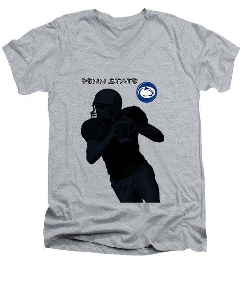 Penn State Football Men's V-Neck T-Shirt