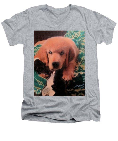 Penny Men's V-Neck T-Shirt
