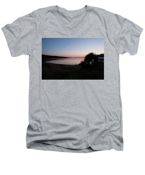 Pennyghael Sunset Men's V-Neck T-Shirt