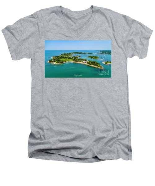 Penzance Point Men's V-Neck T-Shirt