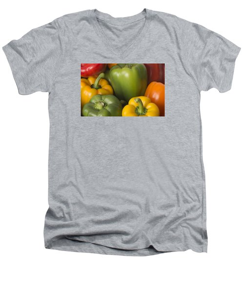 Peppered Delight Men's V-Neck T-Shirt