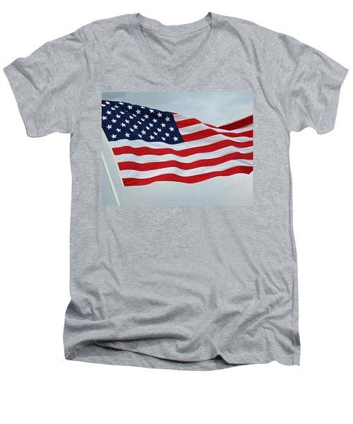 Perfect Flag Men's V-Neck T-Shirt