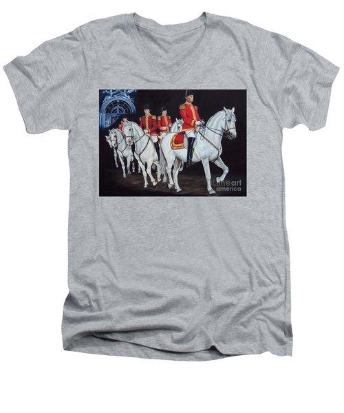Perfect Harmony Men's V-Neck T-Shirt