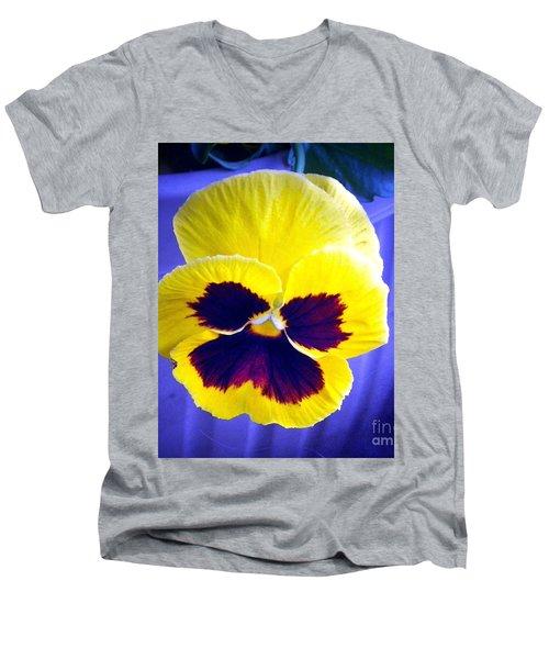 Perfect Pansey Men's V-Neck T-Shirt