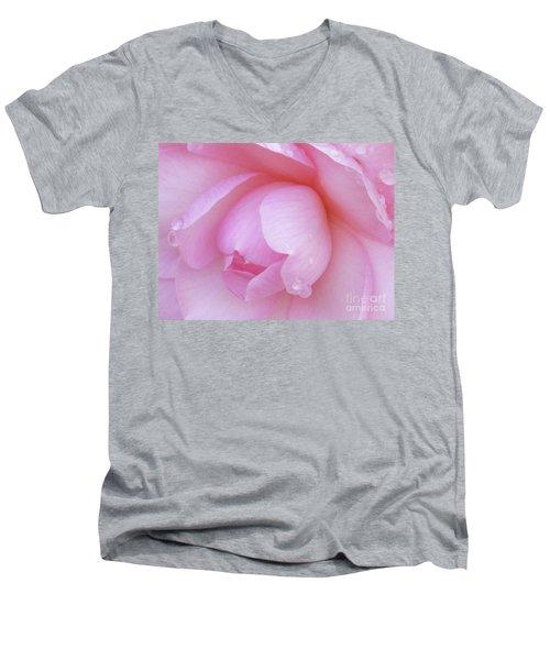 Perfect Pink Men's V-Neck T-Shirt