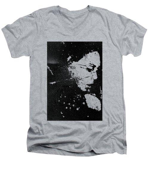 Perfect Pitch Black Men's V-Neck T-Shirt