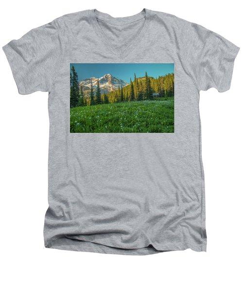 Perfect Setting Men's V-Neck T-Shirt