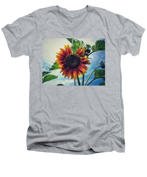 Perfectly Imperfect Men's V-Neck T-Shirt by Karen Stahlros