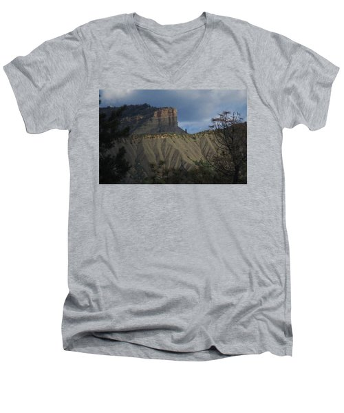 Perin's Peak Durango Men's V-Neck T-Shirt