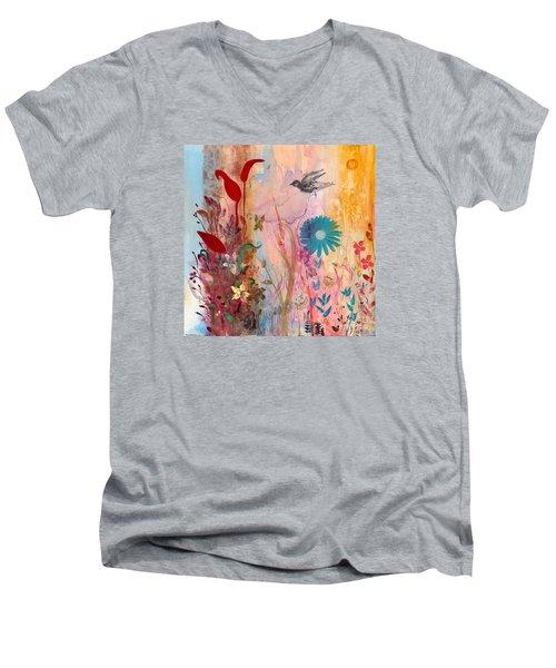 Persephone's Splendor Men's V-Neck T-Shirt by Robin Maria Pedrero