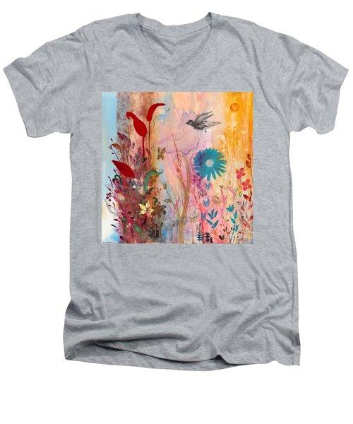 Persephone's Splendor Men's V-Neck T-Shirt