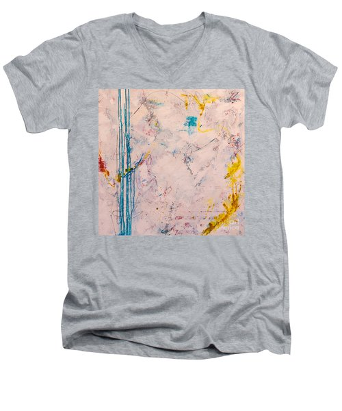 Perserverance Men's V-Neck T-Shirt by Gallery Messina