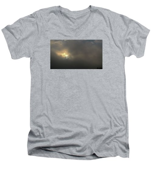 Men's V-Neck T-Shirt featuring the photograph Persevere by Carlee Ojeda