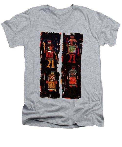 Peruvian Fab Art Men's V-Neck T-Shirt