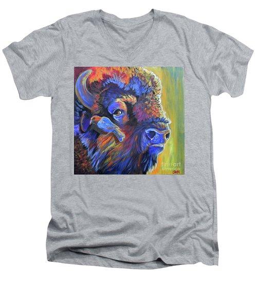Pesky Cowbird Men's V-Neck T-Shirt