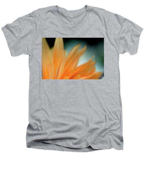 Petal Disaray Men's V-Neck T-Shirt by Greg Nyquist