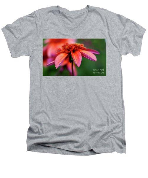 Petal Perfect Men's V-Neck T-Shirt