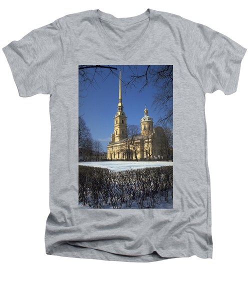 Peter And Paul Cathedral Men's V-Neck T-Shirt