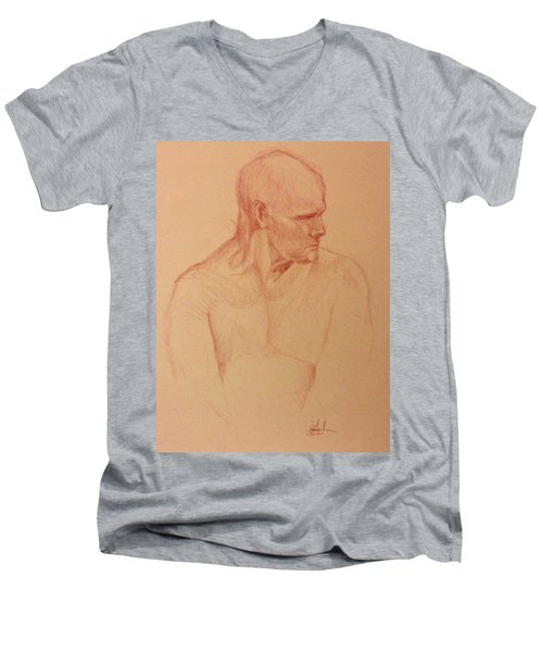 Peter Men's V-Neck T-Shirt