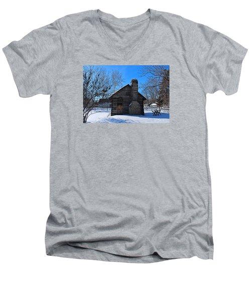 Peter Navarre Cabin I Men's V-Neck T-Shirt