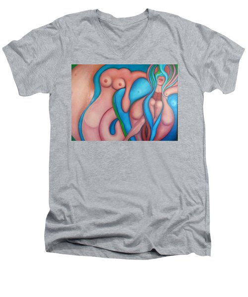 Pete's Fantasy Men's V-Neck T-Shirt