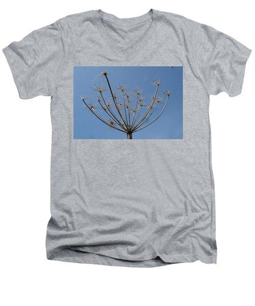 Petite Parasols Men's V-Neck T-Shirt