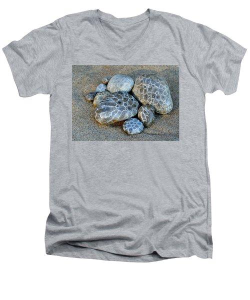 Petoskey Stones Men's V-Neck T-Shirt