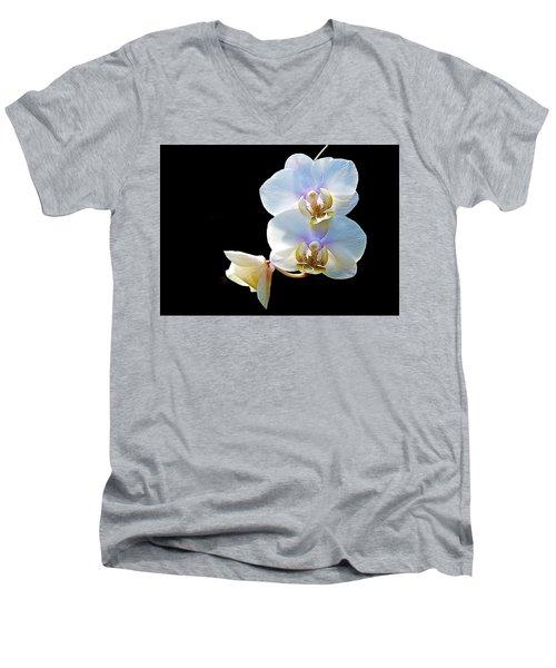 Phalaenopsis Culican #1 Nobby's Amy Shin Hua Men's V-Neck T-Shirt