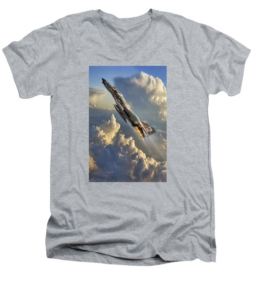 Phantom Cloud Break Men's V-Neck T-Shirt