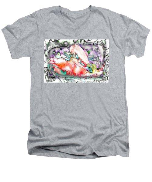Phantom Quantom Thing.... Men's V-Neck T-Shirt