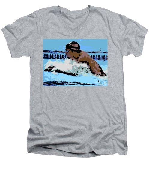Phelps 2 Men's V-Neck T-Shirt