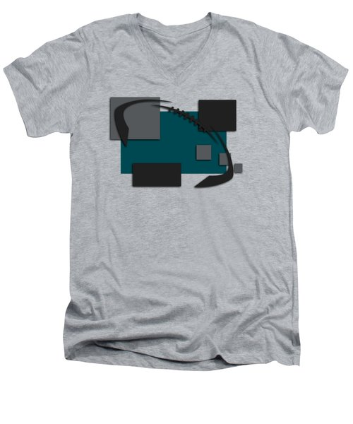 Philadelphia Eagles Abstract Shirt Men's V-Neck T-Shirt