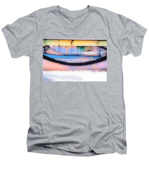 Philadelphia Scene2 Men's V-Neck T-Shirt