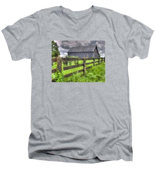 Phillip's Barn #4 Men's V-Neck T-Shirt