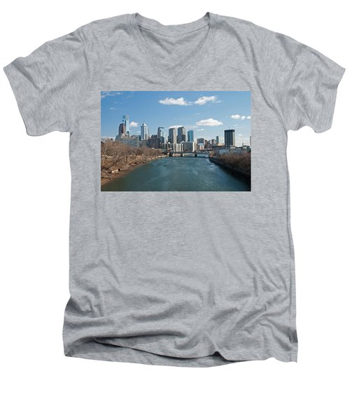 Philly Winter Men's V-Neck T-Shirt