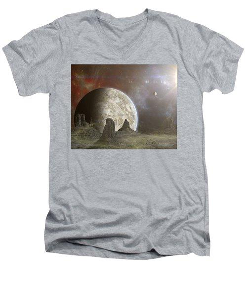 Phobos Men's V-Neck T-Shirt