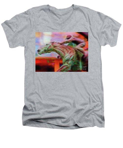 Photo Finish Men's V-Neck T-Shirt
